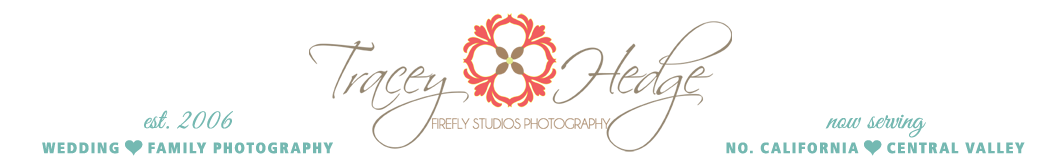 Redding, CA Wedding Photographer – Tracey Hedge Photography logo